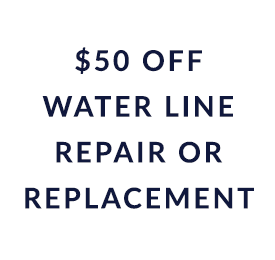 coupon for $50 off water line repair or replacement