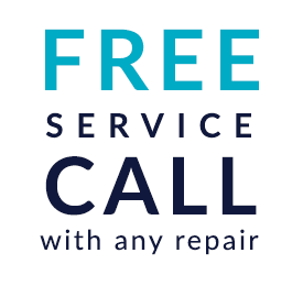 Coupon for free service call with any repair